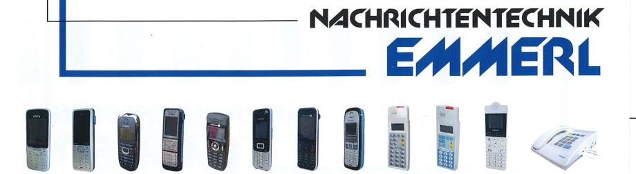 Reparatur Patiententelefone, Anlagentelefone und Piepser